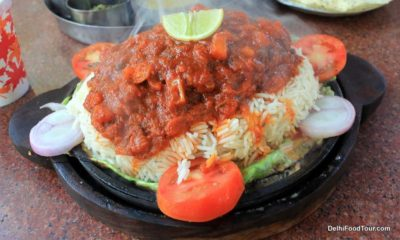 Fish and rice sizzler dish from Odisha