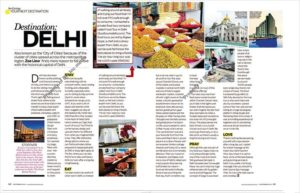 Food Tour In Delhi On Her World Magazine