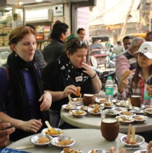 Food tour in India delhi