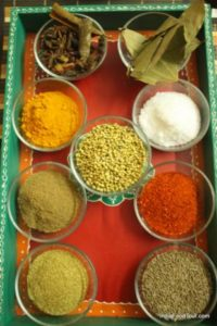 introduction to spices in cooking class