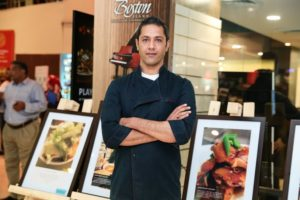Chef Aditya Bal at Foodhall@DLF Place