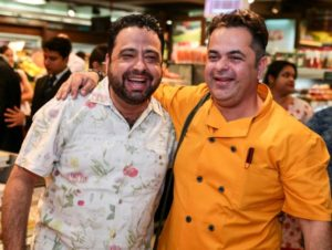 Chef Manish Mehrotra and Chef Vicky Ratnani