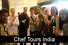 India food tour with a chef