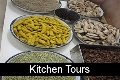 Meet the chef and kitchen tours