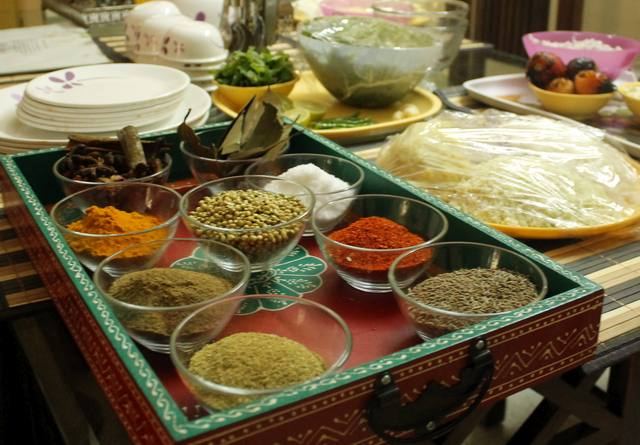 Cooking class in New Delhi