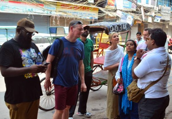 Old Delhi food walks with chef