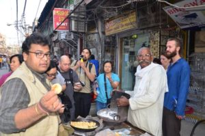old delhi food tour with chef